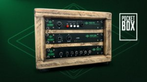 POCKET BOX - Rack de Madeira + Pocket Pre + Pocket Comp + Pocket Eq