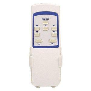 Controle Remoto Ventilador Teto e Lâmpada com Timer PW