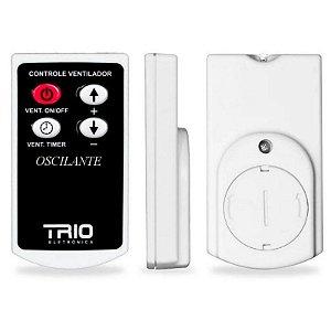 Controle Remoto Ventilador Oscilante Parede com Timer TRIO