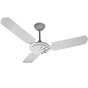 Ventilador de Teto Ventex Comercial Branco 3 Pás Aço