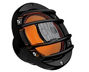 Coaxial 6 Polegadas Marinizado Preto Com LED RGB Hertz Marine HMX 6.5 S LD