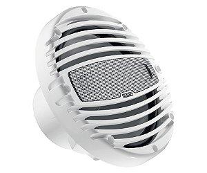 Coaxial 8 Polegadas Marinizado Branco Com LED RGB Hertz Merine HMX 8 LD