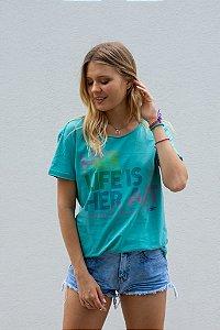 Mormaii Camiseta Her Life Is Her Art
