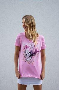 Mormaii Camiseta Flowers Skull
