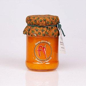 Geleia de Damasco com laranja, canela e pimenta