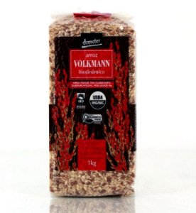 Arroz Especial Cateto Integral com Vermelho Biodiâmico Volkmann
