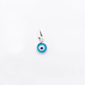 Pingente Olho Grego Azul Claro PP