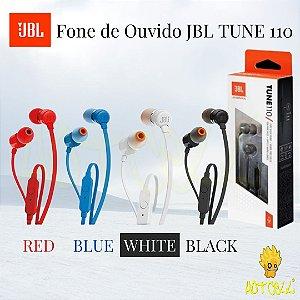 Fone de Ouvido JBL TUNE 110
