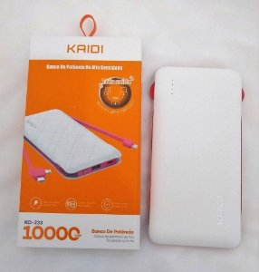 Carregador Portátil Kaidi KD 233 10000