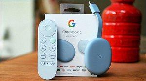 Google Chromecast Tv With Google Tv 4k C/ Controle Remoto