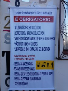 01 BANNER COM AS NORMAS DE ABERTURA DO COMÉRCIO