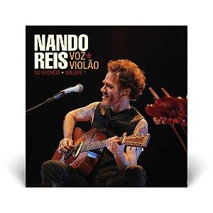LP Duplo Nando Reis Voz e Violão no Recreio Vol 1