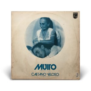 LP Caetano Veloso - Muito (Dentro Da Estrela Azulada)