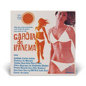LP Garota de Ipanema (Trilha Sonora do filme)