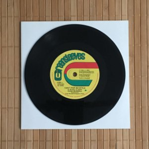 """7"""" Hugh Mundell - You Can't Pop no Style / Ranking Joe - Weakheart Fadeaway"""
