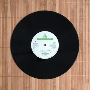 """Vinil 10"""" Gideon Zinger - Times Are Changing / Stepping Out Babylon + Version"""