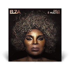 LP Elza Soares - Deus é Mulher LACRADO