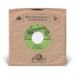 """7"""" Justin Hinds & The Dominos - The Little That You Have / Tommy McCook & The Supersonics - Persian Ska"""