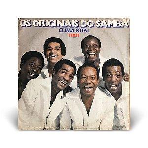 LP Os Originais do Samba - Clima Total