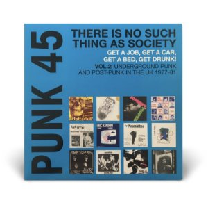 LP DUPLO Punk 45 - There Is No Such Thing As Society VOL. 2