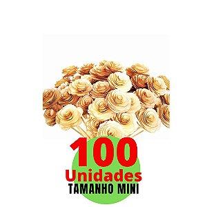 Mini Flores em Varetas Difusoras com 100 unidades - 4cm