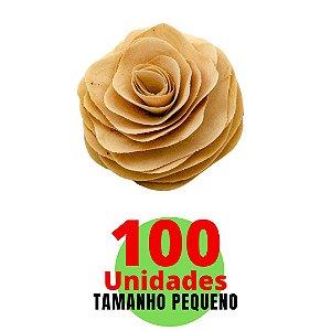 Kit Com Flores em Cordão Difusor - Tamanho Pequeno - 8cm com 100 unidades