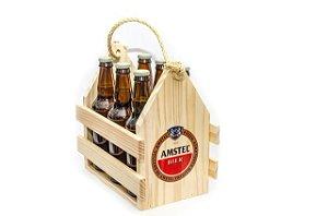 Engradado Pinus para Bebidas - Amstel
