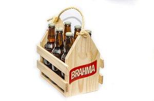 Engradado Pinus para Bebidas - Brahma