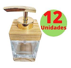 Saboneteira Cubo - 100ml - 12 Unidades
