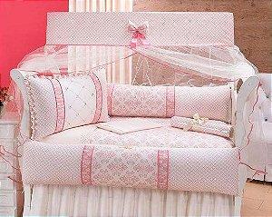 Lindo Kit Berço rose