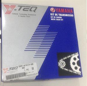 KIT TRANSMISSÃO XTZ125cc - YTEC, ORIGINAL YAMAHA