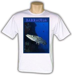 Camiseta Branca de passeio para pescadores