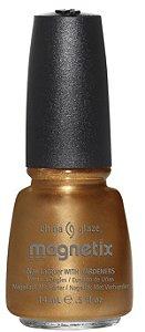 Esmalte China Glaze MAGNETIX Gold Fusion 14ML