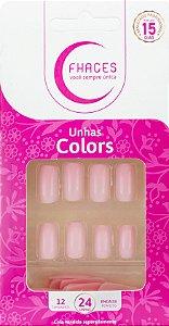 Unhas Fhaces Colors Lady Rose - 24 unhas