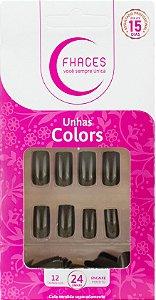 Unhas Fhaces Colors Camuflado - 24 unhas