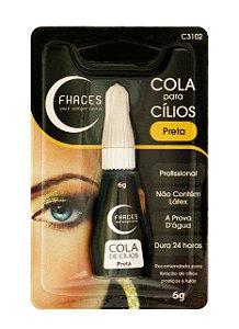 Cola p/ Cílios Preta 6g