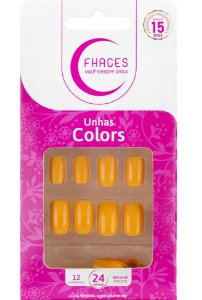 Unhas Fhaces Colors Pôr do Sol - 24 unhas