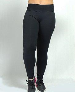 Calça legging supplex alta compressão