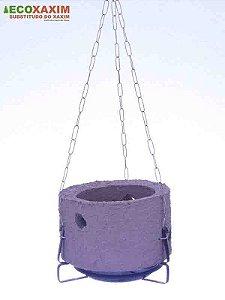 Vaso de Planta Revestido Kit Orquidea 13