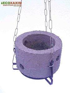 Vaso de Planta Revestido Kit Orquidea 17