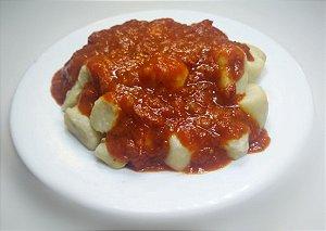 Nhoque ao molho de tomate