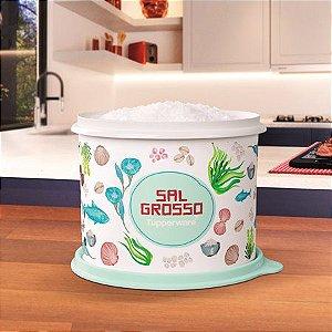 Tupperware Caixa de Sal Grosso 1,3kg Floral