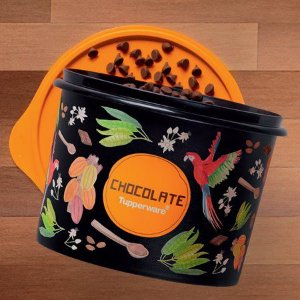 Tupperware Caixa de Chocolate Floral 1,7 Litros
