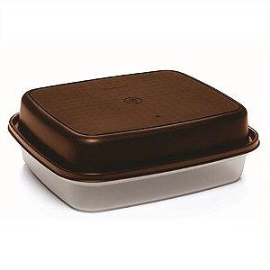 Tupperware Caixa Bom Sabor 2,25 Litros Marrom