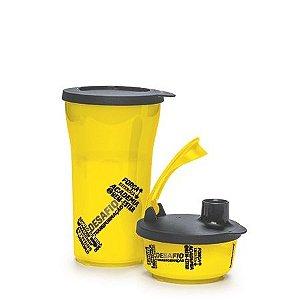 Tupperware Kit Tigela e Copo Ilúmina Fitness Amarelo