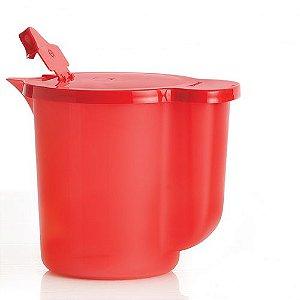 Tupperware Jarra Cristalwave 1 Litro Vermelha