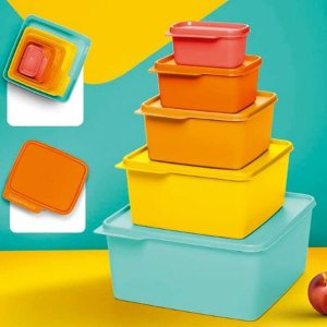 Tupperware Kit Basic Line 5 Pecas