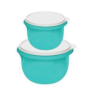 Tupperware Kit Tigela Batedeira Verde Mint 2 Pecas