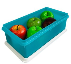 Tupperware Maxi Caixa 2,5 Litros Azul