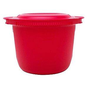 Tupperware Instant Massa Plus 3 Litros Redonda Vermelha